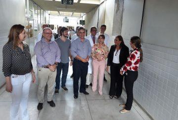 Pedro e Cássio participam de reunião no Hospital Universitário Lauro Wanderley