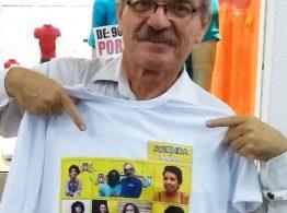Artistas paraibanos estampam nova camiseta da Agenda Viva; adquira a sua!