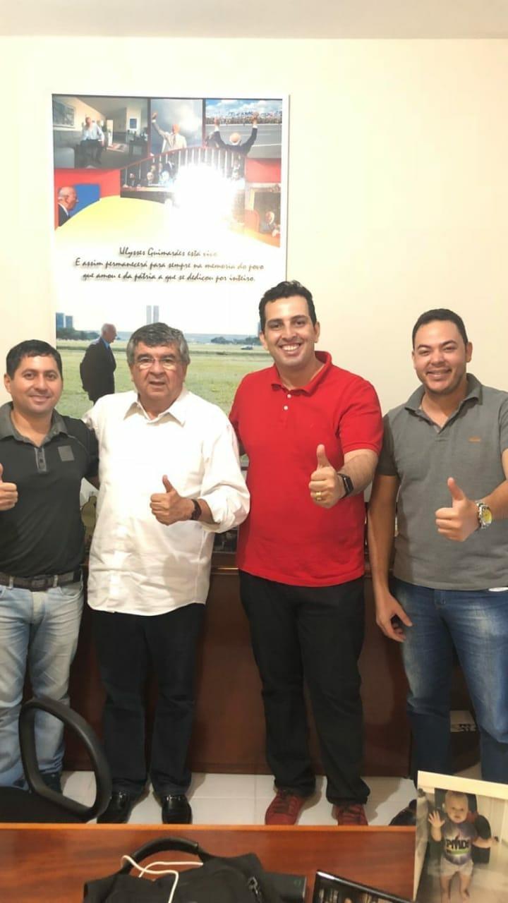 Roberto Paulino recebe apoio de várias lideranças de todo o Estado