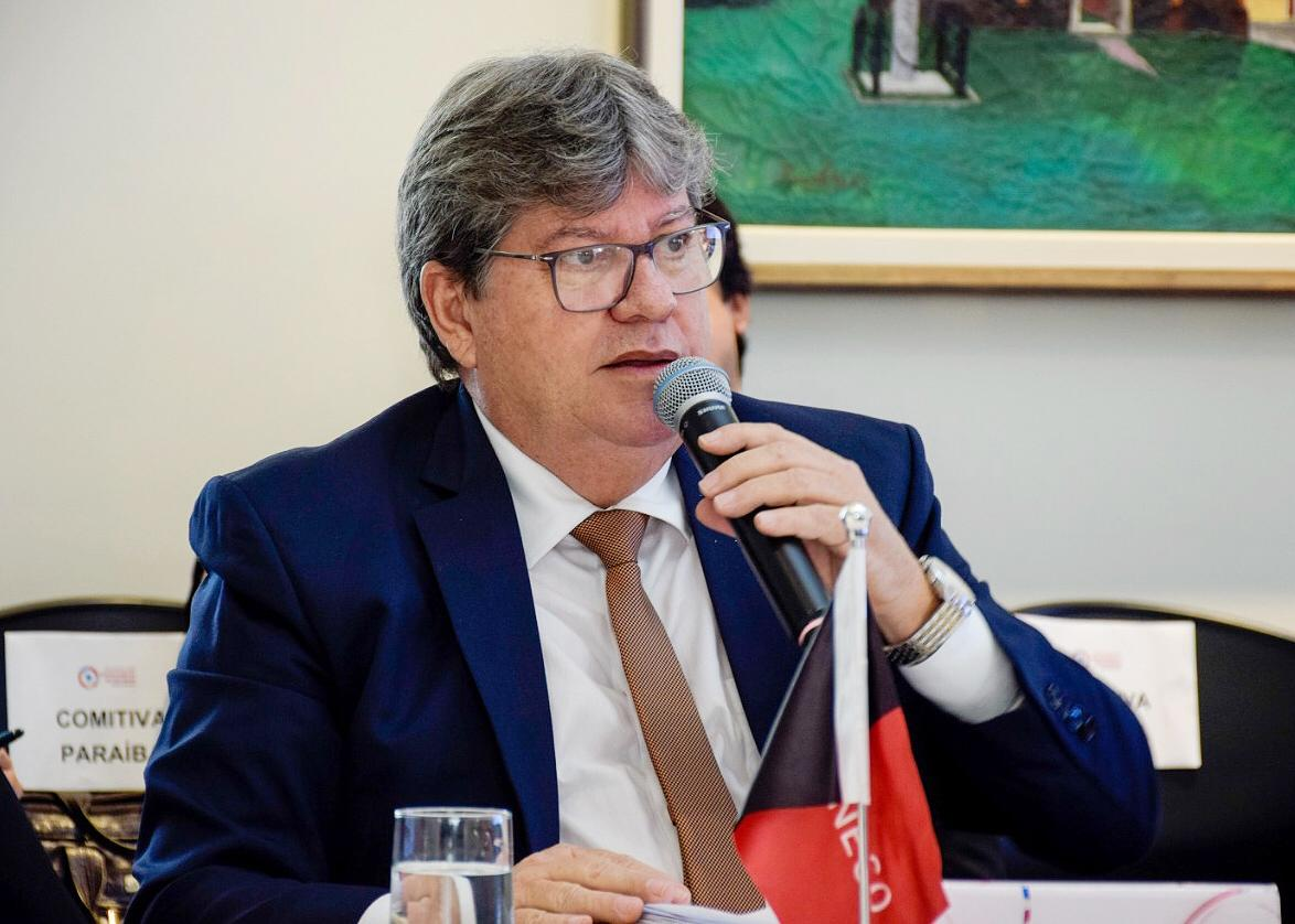 João Azevedo assinou o protocolo de criação do Consórcio Nordeste (Assessoria)