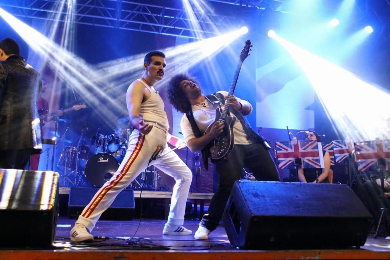 Espetáculo Queen Experience in Concert (Divulgação)