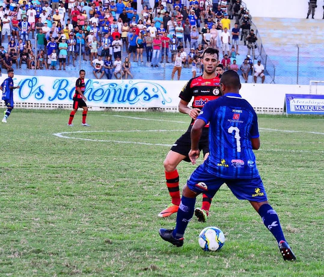 Partida foi disputada no Perpetão, em Cajazeiras (@campinenseclube)