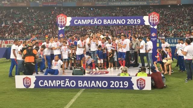 Resultado de imagem para bahia campeão 2019