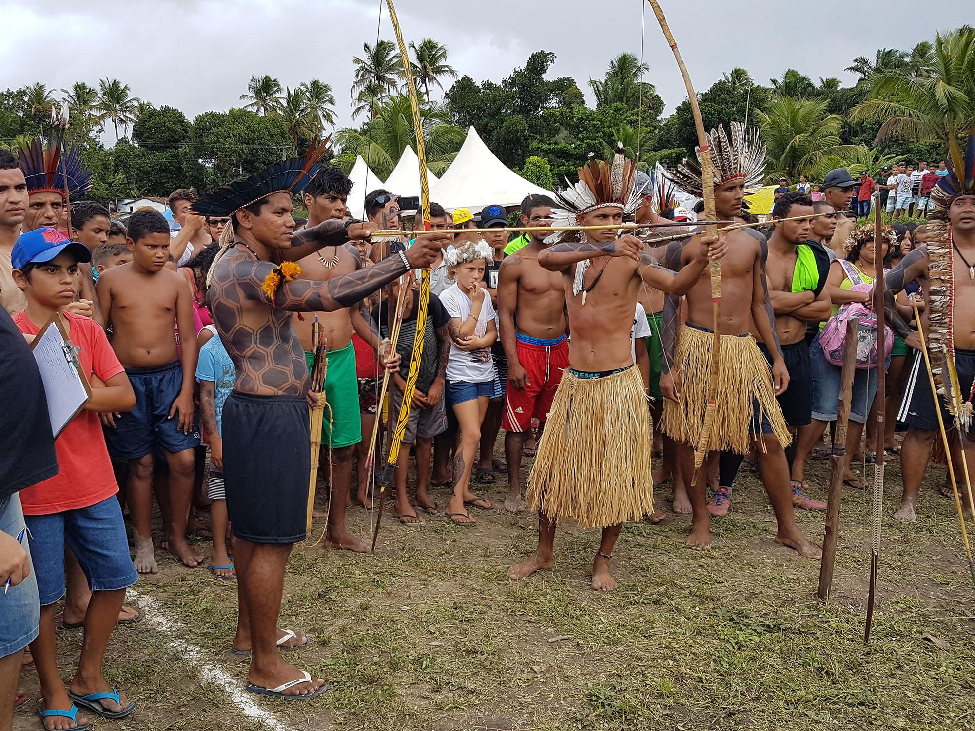 Jogos indígenas da Paraíba