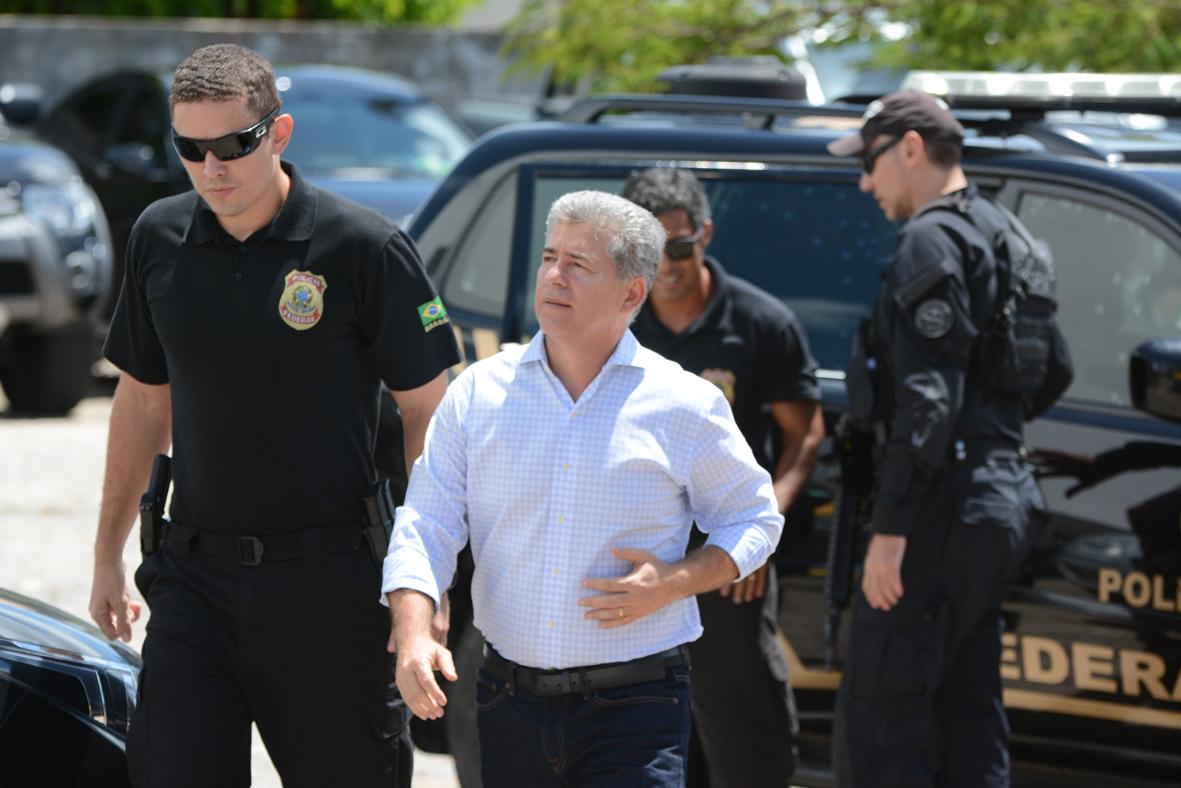 Ex-prefeito Leto Viana está preso há mais de um ano (Arquivo)