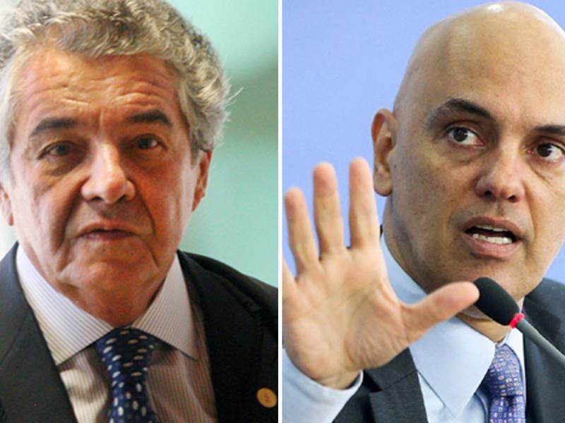 STF racha e Marco Aurélio condena censura imposta por Alexandre Moraes