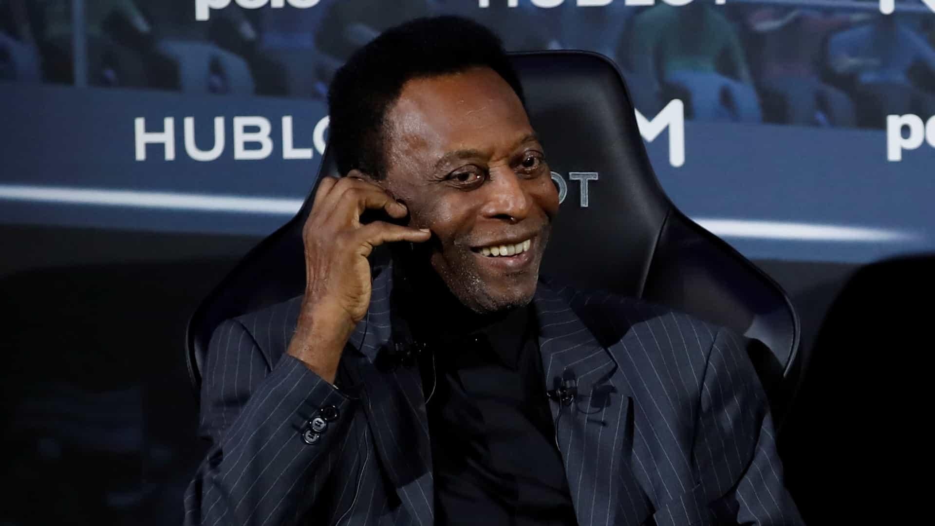 O ex-jogador Pelé passou por procedimento de retirada de cálculo renal no Hospital Albert Einstein - Christian Hartmann/Reuters/Direitos reservados