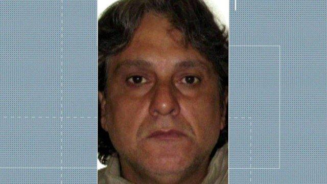 Paulo Cupertino Matias, de 48 anos, se envolveu em crimes na década de 1990, segundo a polícia Foto: Reprodução/TV Globo